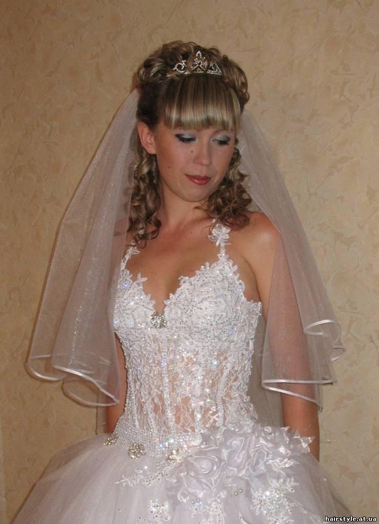 Свадебная прическа редкие волосы